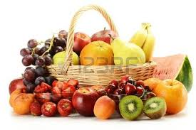 basket of fruits fruit basket stock photos royalty free business images