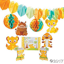 lion king baby shower lion king baby decorating kit trading discontinued
