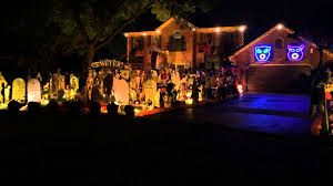 christmas decorations light show fascinating halloween light show queen bohemian rhapsody thomas