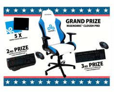 Cloud 9 Gaming Chair G2 Esports Win A Needforseat Gaming Chair U0026 Hyperx Revolver