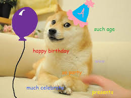 Meme Birthday Card - doge meme birthday card