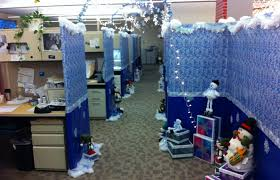 Bay Decoration Office Themes For Christmas Fun Halloween Cubicle