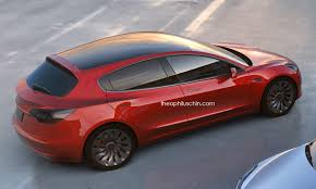 what if the tesla model 3 gives birth to a new car family