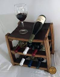 counter top wine rack u2013 barrel of murrays