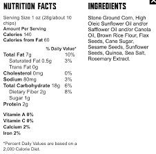 food should taste good multigrain tortilla chips u2013 healthy snack