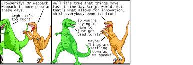 modern javascript explained dinosaurs u2013 peter jang u2013 medium