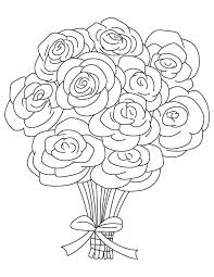 wedding flowers drawing wedding flowers coloring pages miss adewa d2f67d473424