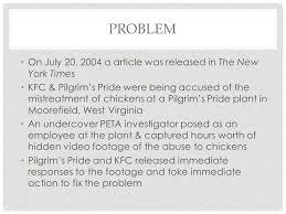 pilgrim pride employment peta vs pilgrim s pride kfc ppt