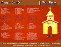 2011 theme arise build u2013 open door bible baptist church