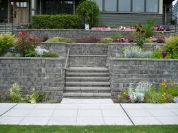 Building A Raised Patio With Retaining Wall by Retaining Walls Mutual Materials