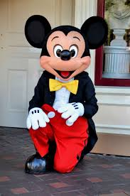 mickey mouse kneeling disneyland anaheim california