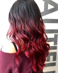 how to get cherry coke hair color vibrant cherry coke balayage rochesters best salon henrietta