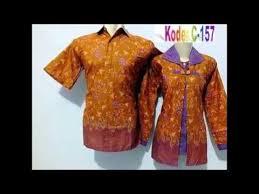 desain baju batik untuk acara resmi aneka desain baju batik kantor terbaru pria wanita youtube