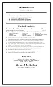 Job Resume Sample No Experience by Fascinating Lvn Resumes Resume Cv Cover Letter Format Graduate