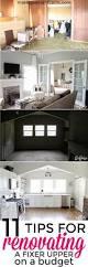 renovating a house saving money when renovating a fixer upper fixer upper homes