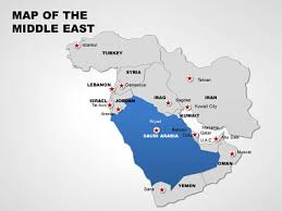 middle east map ppt middle east editable powerpoint maps imaginelayout