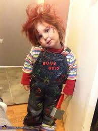 chucky costume toddler chucky costume photo 2 5