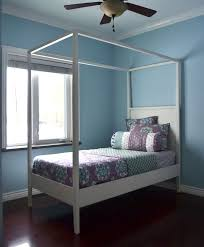 Bed Frame With Canopy White Canopy Bed Diy Projects