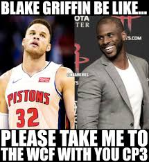 Blake Griffin Meme - nba memes cp3 makes his first wcf and blake griffin facebook