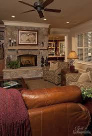 Raleigh Interior Designers Stone Fireplace Gathering Room Interior Design Raleigh