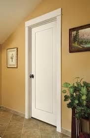 One Panel Interior Door Clean And Contemporary Door Simple One Panel Door Design