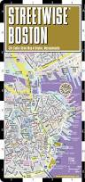 Mbta Map Boston by Streetwise Boston Map Laminated City Center Street Map Of Boston