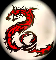 tattoo tribal dragon fire and blood by xrc32 on deviantart