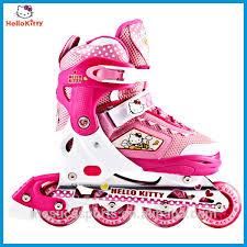 kitty 4 wheels girls pink inline skate hc2001 kc buy 4