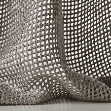 tressage col 003 by dedar this leno weave is woven with a bulky