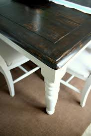 kitchen table refinishing ideas best 25 refurbished dining tables ideas on