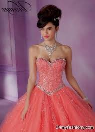 coral pink quinceanera dresses quinceanera dresses coral pink 2016 2017 b2b fashion