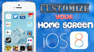 customize home customize your ios 8 homescreen like gridlock no jailbreak