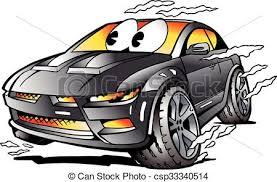 si e auto sport auto sport rennsport grau maskottchen voll auto grau
