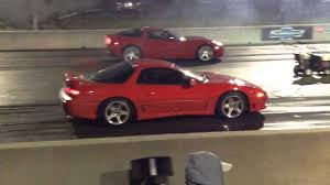 dodge stealth 2016 3000gt vr4 vs corvette youtube