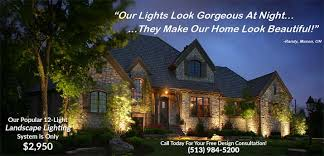 landscape lighting specials cincinnati loveland