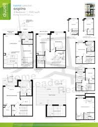 Dwell Floor Plans by Dwell City Towns Maziar Moini Broker Home Leader Realty Inc