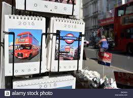 calendars for sale tourist calendars on sale on a london stock photo royalty