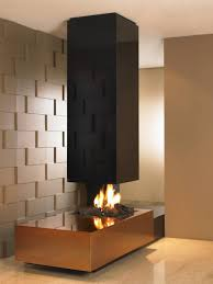 decorating see through gas fireplace designs furniture