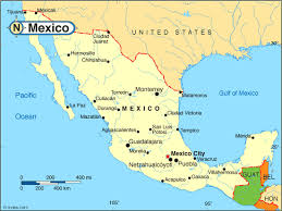 map usa y mexico us map including mexico america map including us mexico and