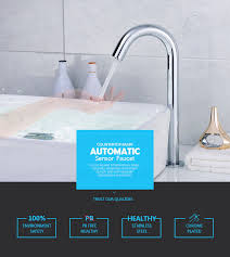 Touch Sensor Faucet Ce New Automatic Kitchen Faucet Touch Sensor Taps Automatic Sensor