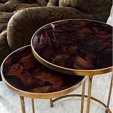 crate and barrel nesting tables odi et amo object of lust moreno nesting tables