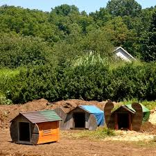 diy how make hobbit house your garden cultivate three hobbit houses ready installed the garden fernwood