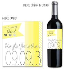 wine bottle wraps yellow wine bottle labels custom wedding wine