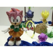 sonic the hedgehog cake topper free shipping unique 12 classic sonic the hedgehog cake