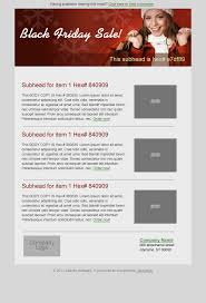 black friday email template email marketing templates atlantic software