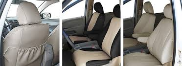 Vehicle Leather Upholstery Leatherette Seat Covers Looks Feels Like Real Leather Sale On