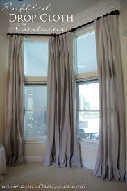 window treatment really good idea splitting it in 2 pair of