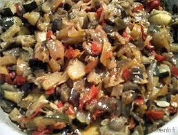 cuisiner des aubergines facile poêlée courgettes poivrons aubergines recette facile les