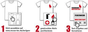 t shirt designen dein individuelles feuerwehr t shirt mit dem shirt designer selbst