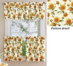 Sunflower Curtains Kitchen by 24